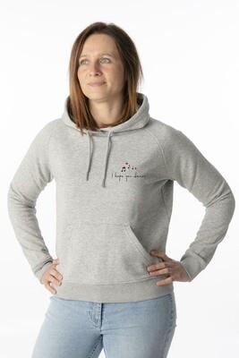 Heather grey hoodie I hope you dance