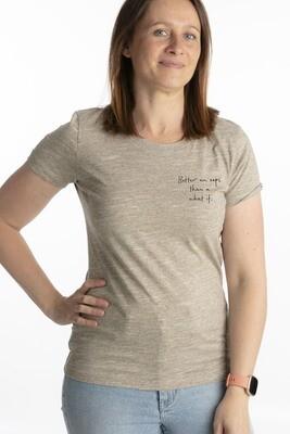 Wooden heather t-shirt better an oops