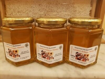 Raw Local Honey  - 8oz Liquid
