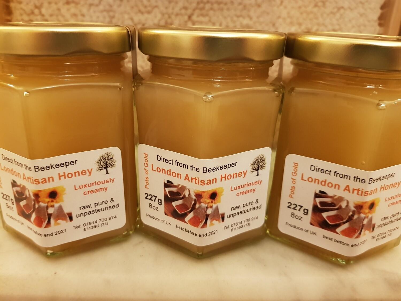 Raw Local Honey - Soft Set 8oz