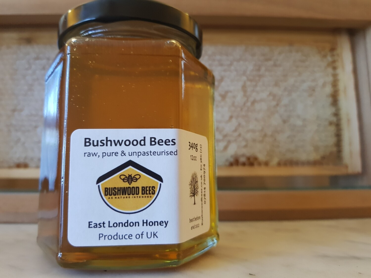 Raw Local Honey - 12oz liquid