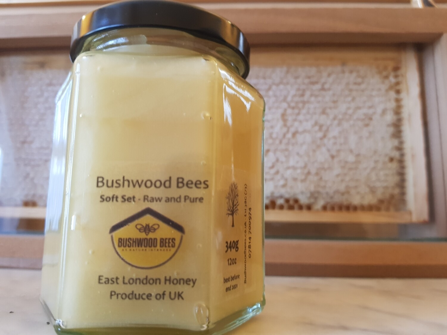 Raw Local Honey - Soft Set 12oz