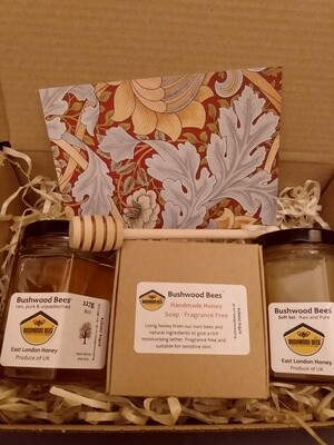 Honey and Fragrance-Free Soap Gift Box