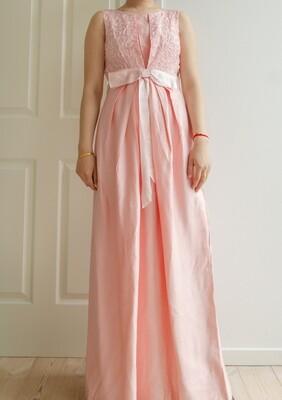 Pink vintage gala dress