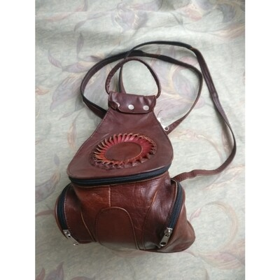 Brown retro bag