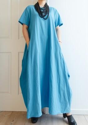 Blue retro dress