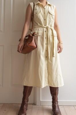 Creamy yellow dress M/L