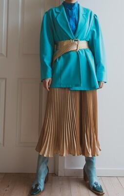 Mint green/blue blazer L/oversize