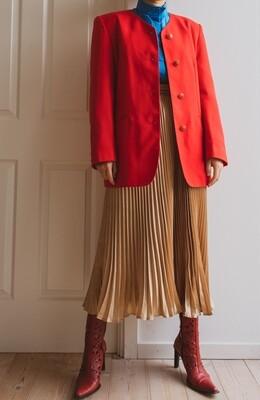 Red oversize blazer L