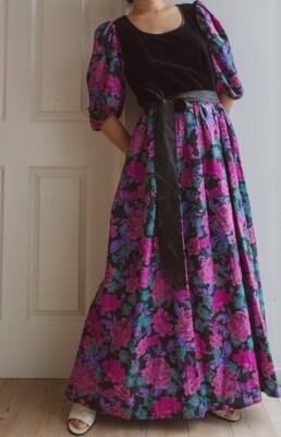 80s gala dress L