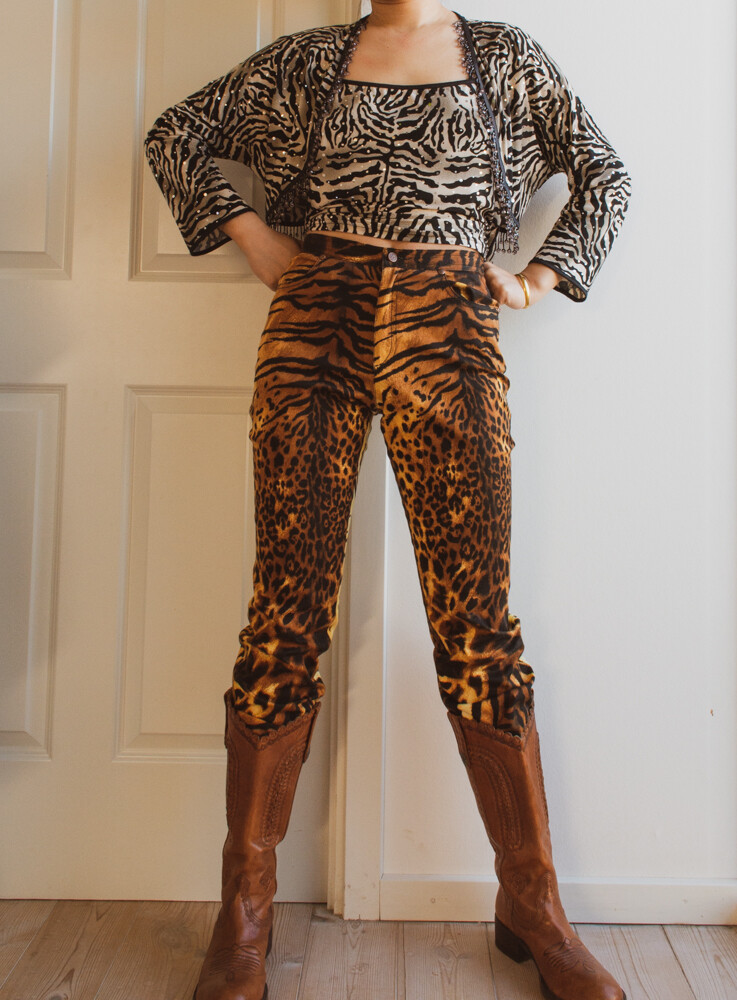 Zebra top set L