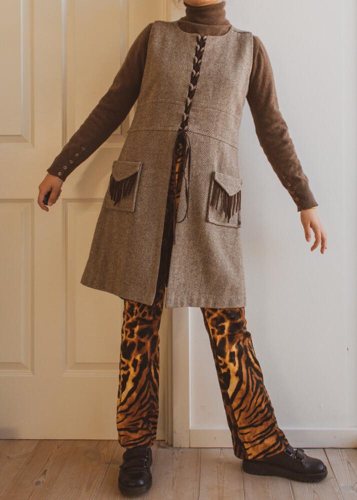 60s retro dress M/L