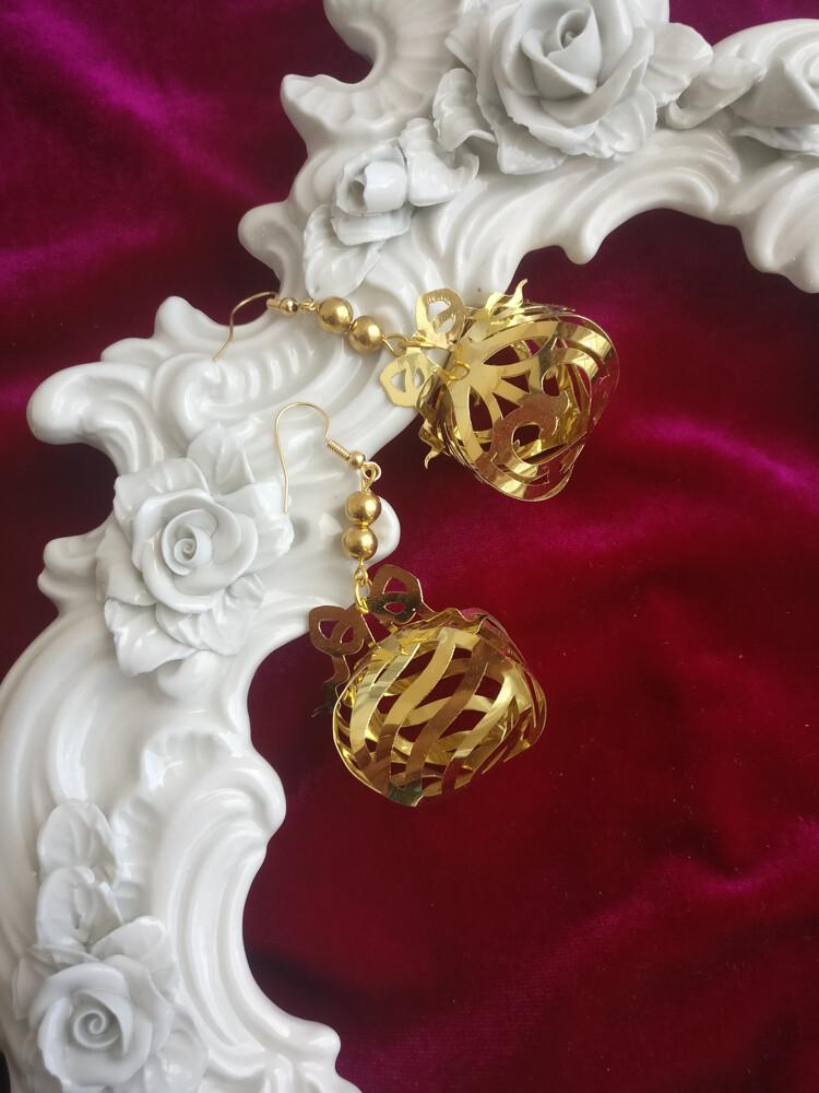 Gift bag earrings