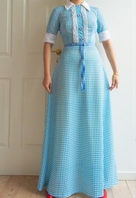 Princess baby blue dress S