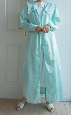 Mint green robe M/L