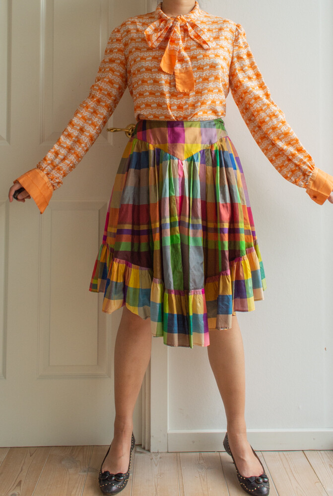 Nina Ricci vintage blouse L