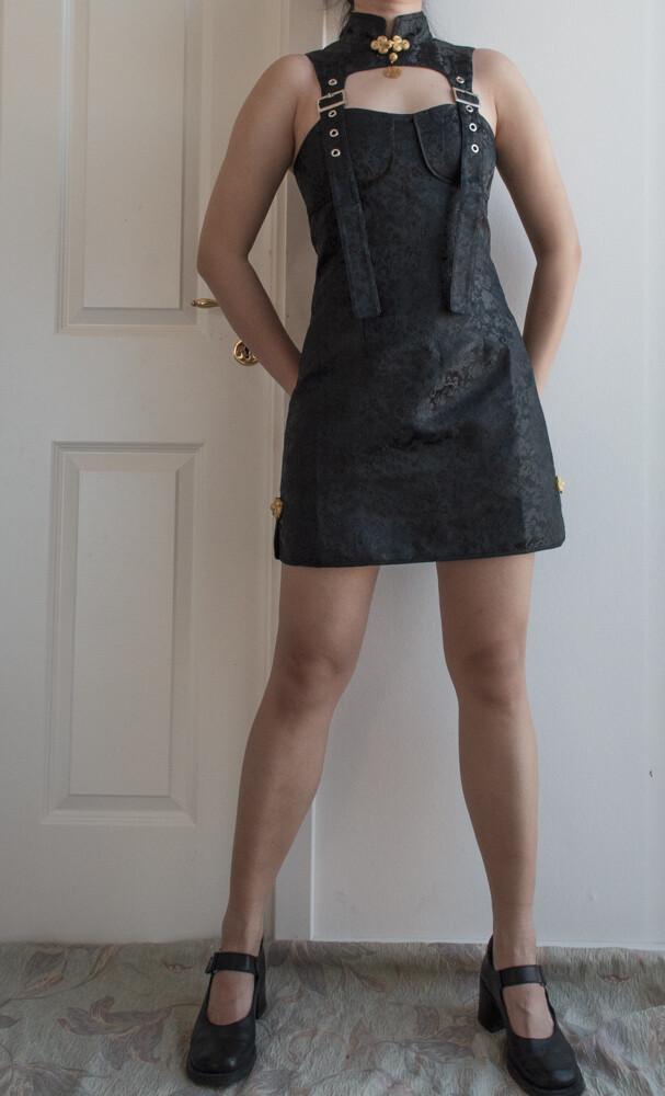 Designer Chinese dress M