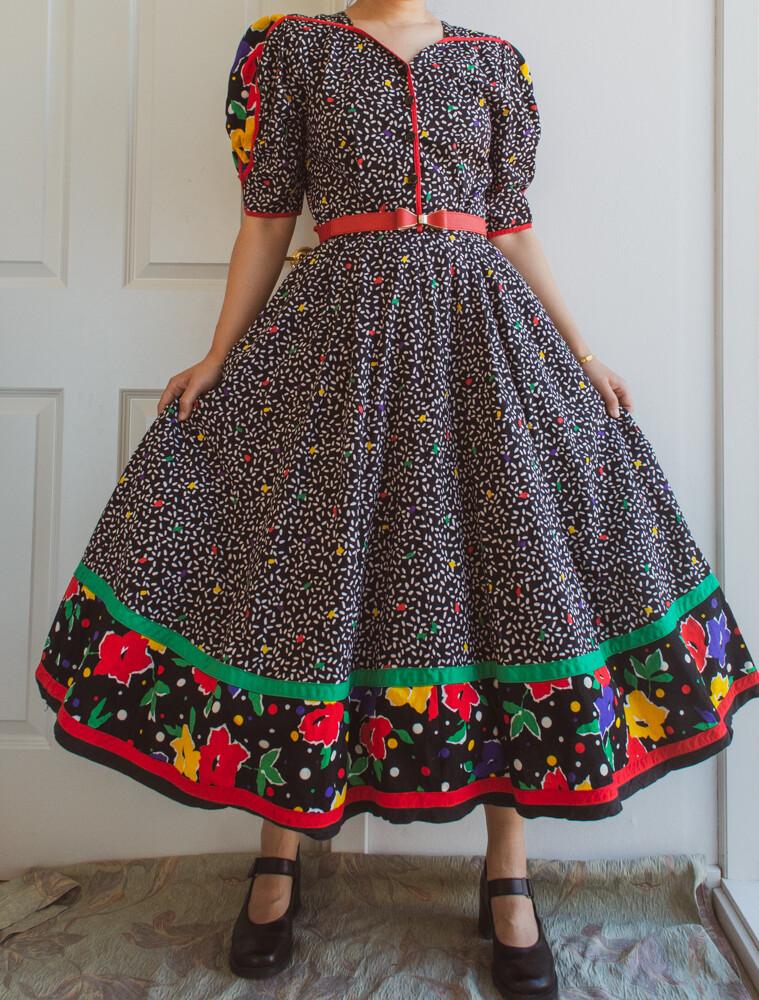 Festival summer dress M
