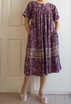 Indian cotton dress M/L