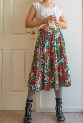 Flower field skirt M