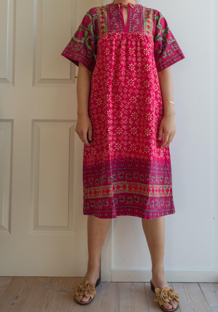 Indian cotton dress S/M