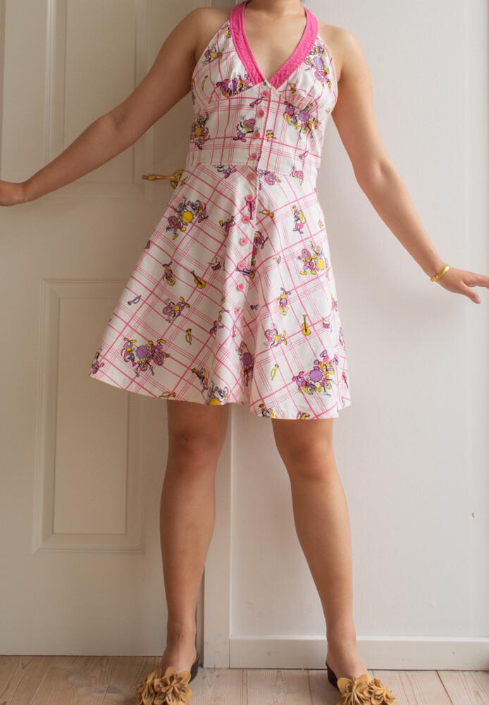 Retro summer dress M/L