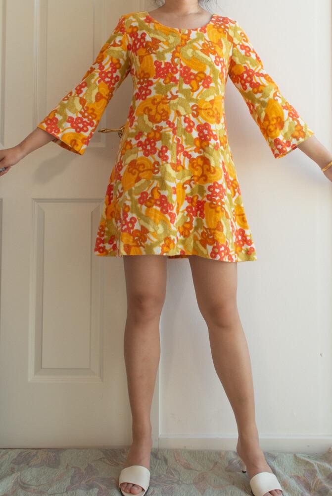 Retro short dress M/L