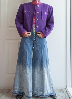 Purple jacket L/oversize