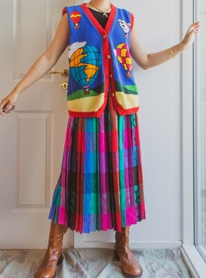 Colorful skirt S/M/L