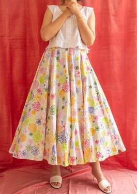 RV made full-circle skirt S