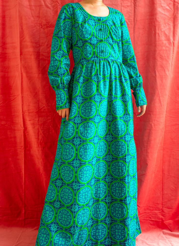 Gabrielle Fouell 70s dress M/L