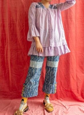 Odd Molly purple dress M/L