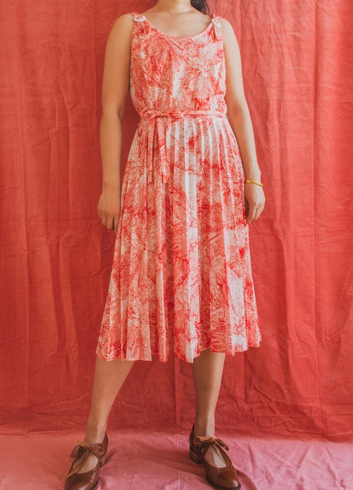Retro summer dress L