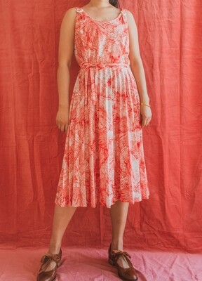 Retro summer dress L