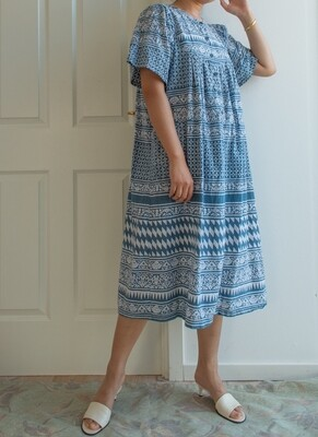 Indian cotton dress M/L