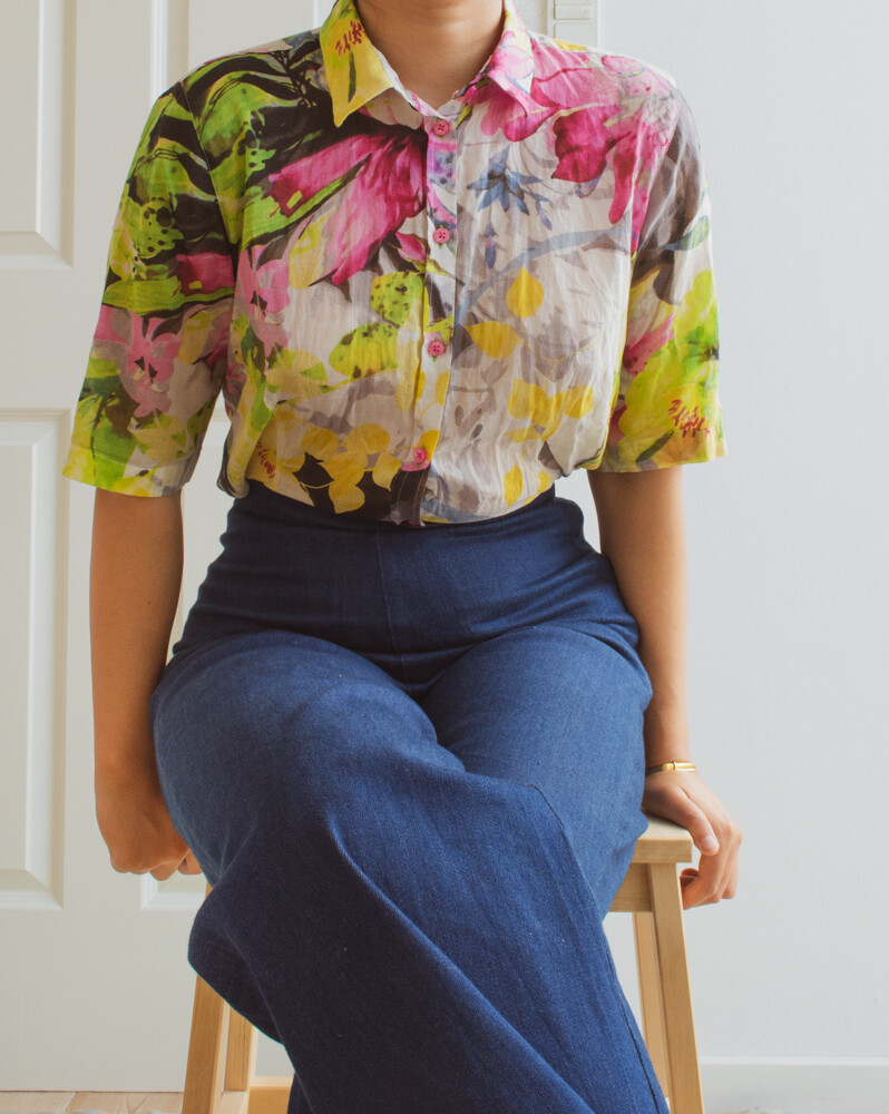 Soft cotton art shirt M/L