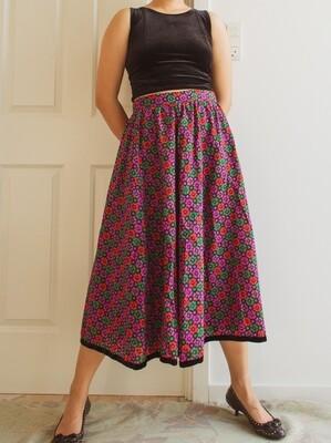 Flower retro skirt M/L