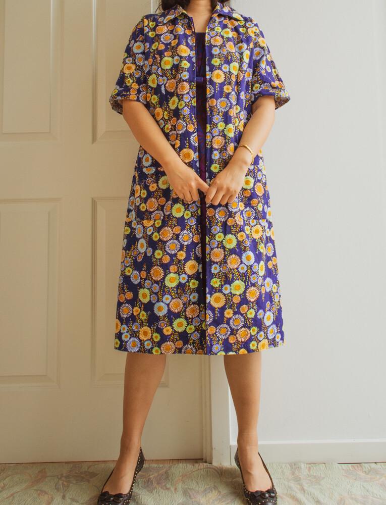 Light cotton coat/dress M/L