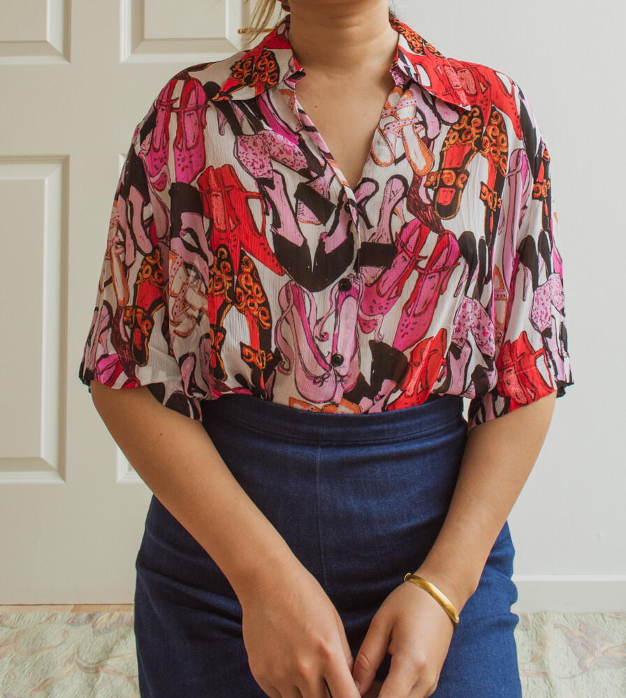 Gerry Weber Shoe lover blouse L/XL