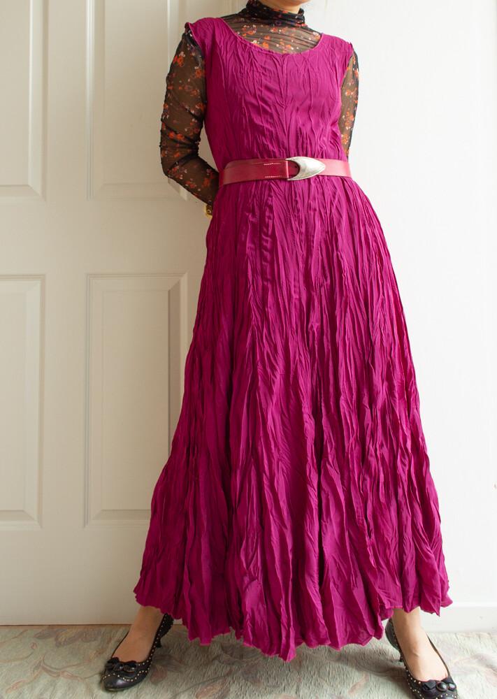 Gina Bacconi pink dress M/L