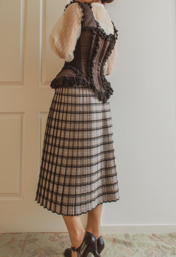 Brown corset S/M