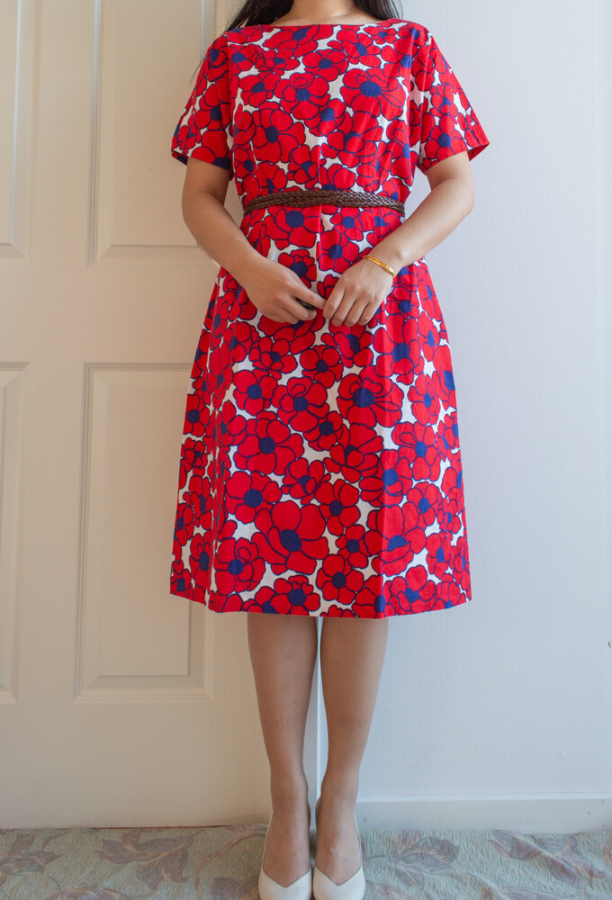 Amazing flower print dress M/L