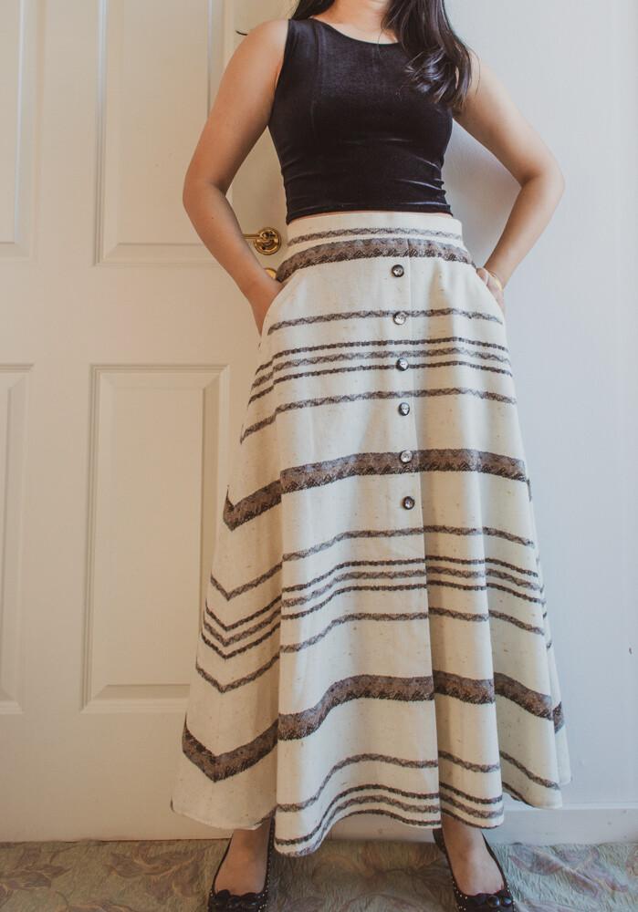 Linen skirt M/L