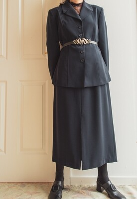 Dark blue Betty set L