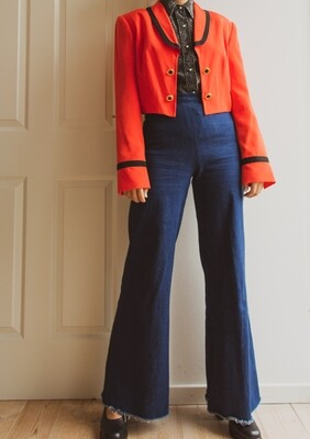 Vera Mont cropped length jacket M/L
