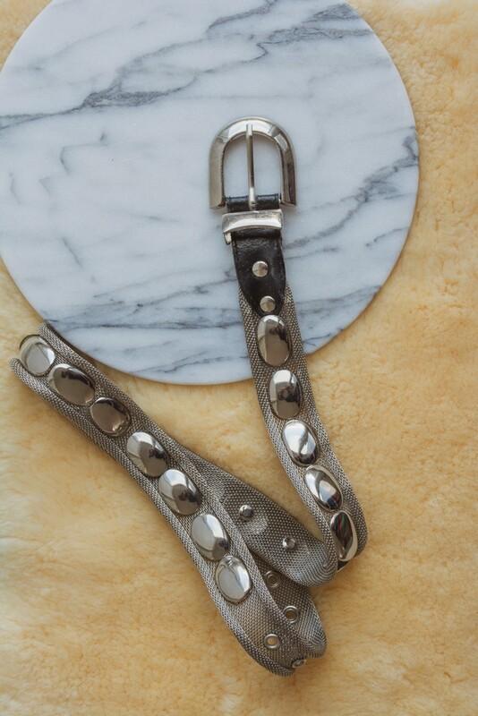 Metal belt