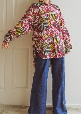 Colorful blouse XL/oversize