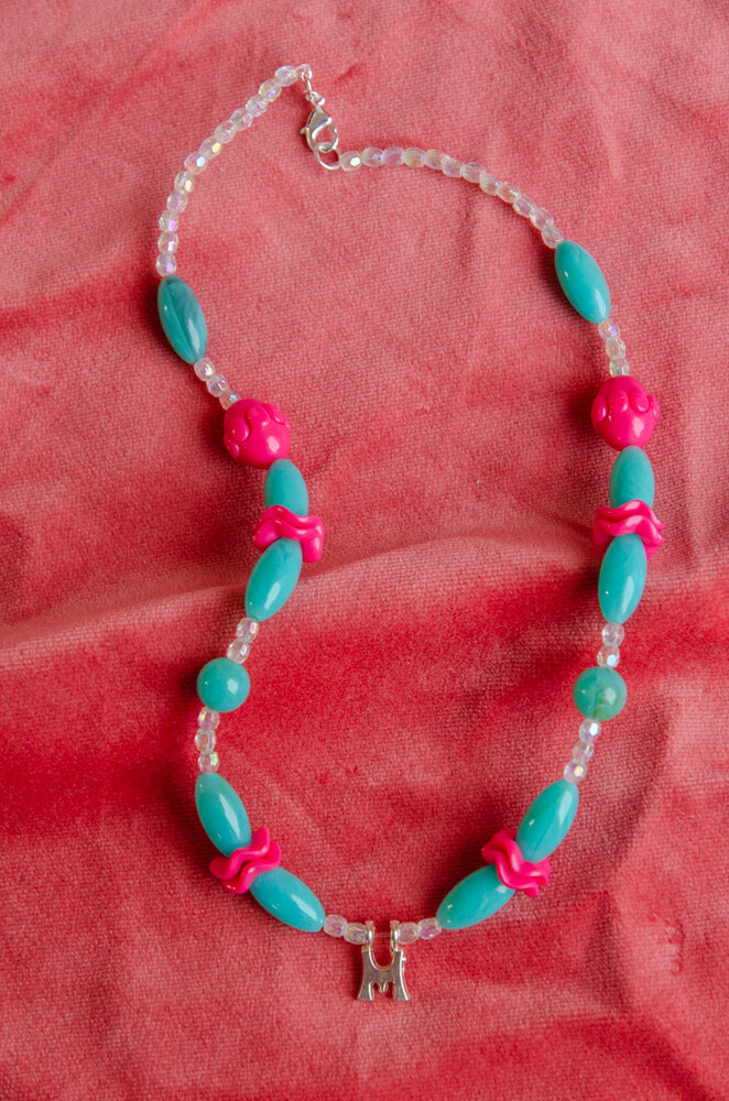 RV remade necklace M