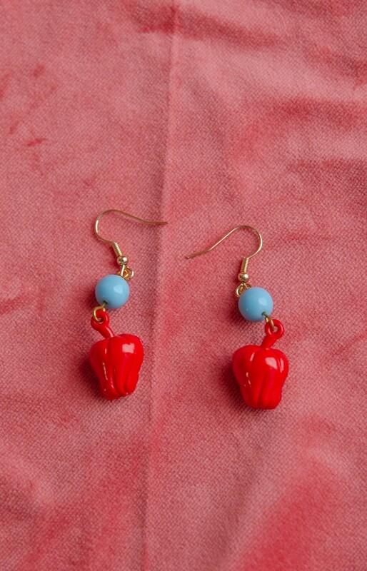 Fruit RV remade earring