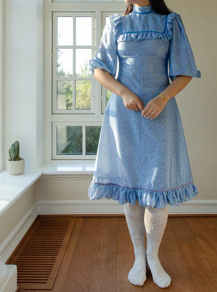 Super cute vintage flower dress S/XS